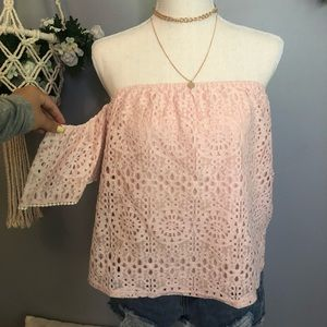 NEW boutique lace top